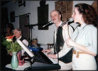 """hier als das """"Thüringen Duo"""" Veranstaltung im Rasselbock Steinbach 1998"""