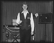Auftritt im FDGB Heim Steinbach 1982