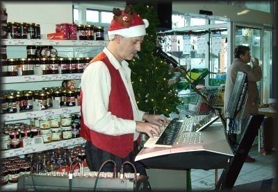 """zur Weihnachtszeit (Auftritt im """"Tegut Markt"""" Wernshausen)"""