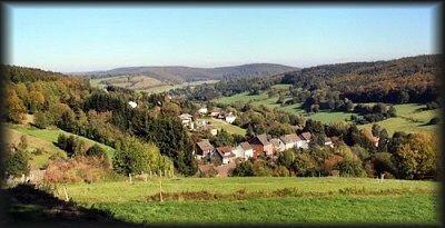 "das idylische Erholungs Dorf ""Hellental"" im Weserbergland bei Solingen"