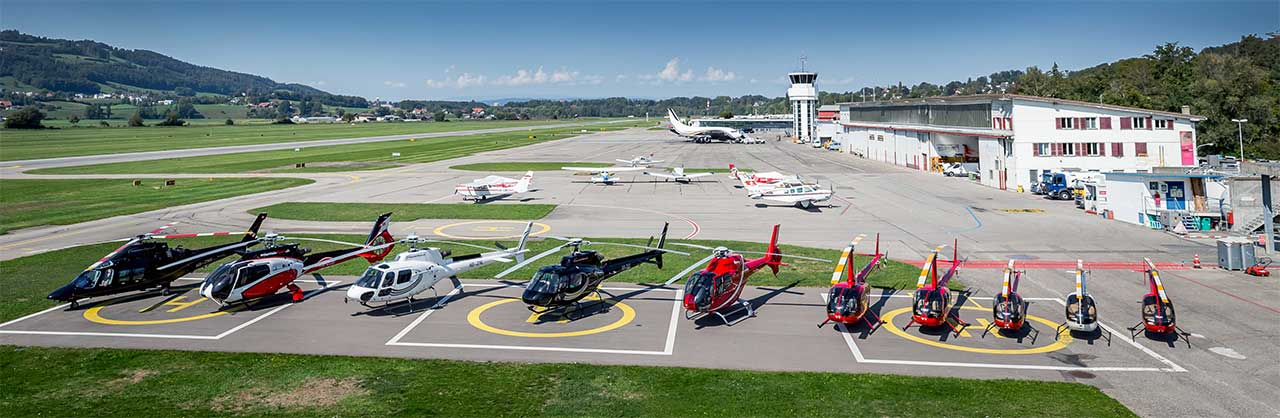 Helikopter Bern-Belp