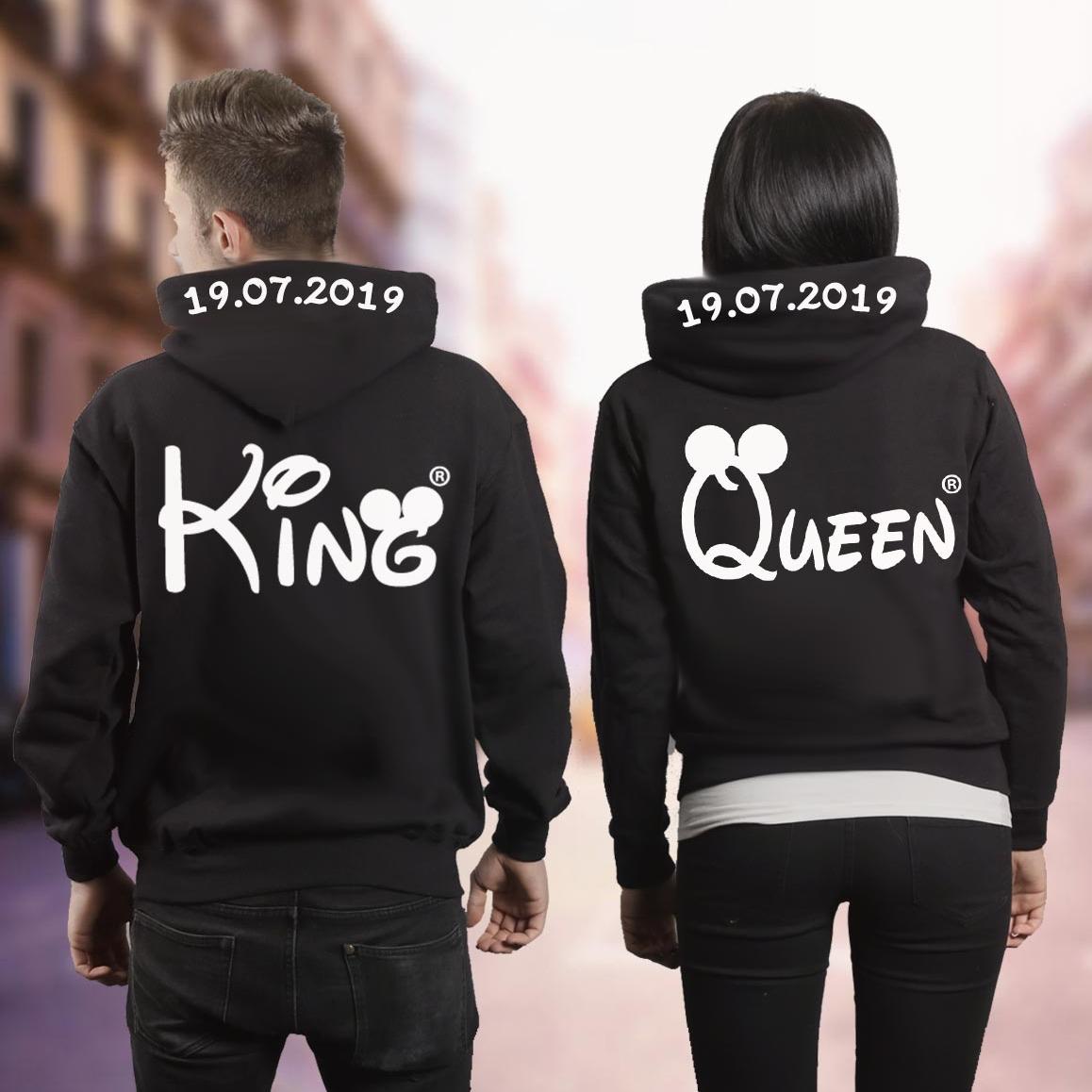 the best attitude bfbf0 5ec03 Coole Pärchen Pullover selbst gestalten King & Queen Mr ...