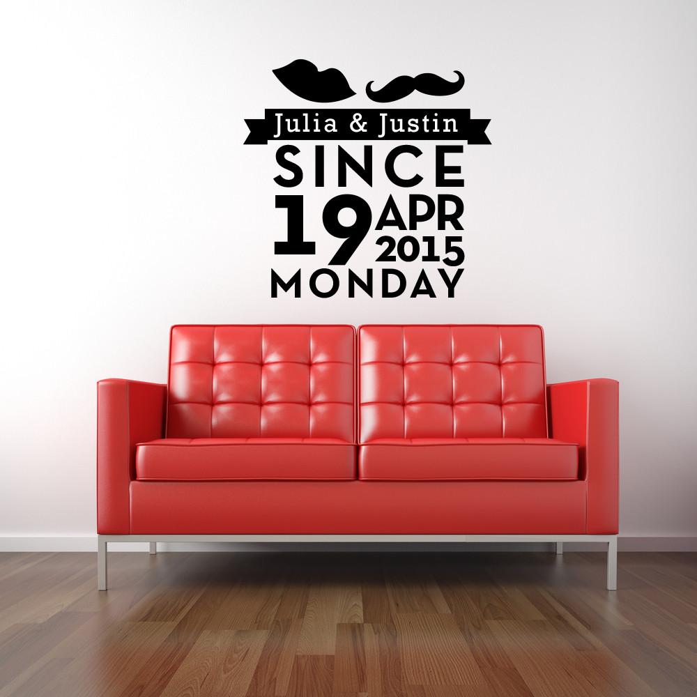 wohnzimmer wandtattoo selbst gestalten! - designlounge