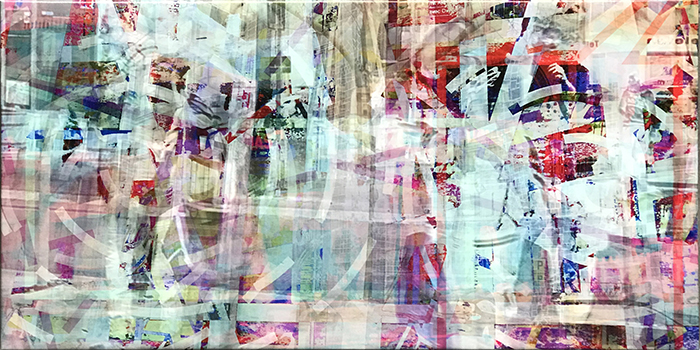 warten(16)/wait_2018_pigmented-inkprint-and-acrylic-on-canvas_size50x100cm
