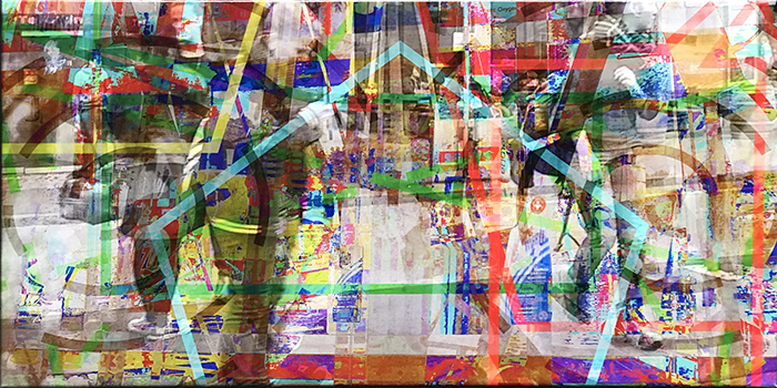 warten(17)/wait_2018_pigmented-inkprint-and-acrylic-on-canvas_size50x100cm