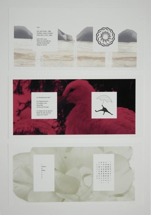 """Div. Seite aus """"Aus der Traum"""", 2006 (Kleinformat)"""