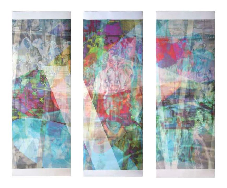 wet107x130n4, 2015. imprime sur canvas. 3 x 123 cm x 43 cm