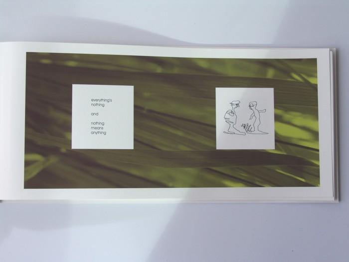 """Seite aus dem 2. Band """"Aus der Traum"""", 2006 (Grossformat)"""