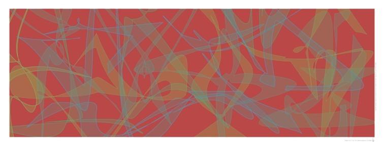 """Die Zahlen von """"1"""" bis """"16"""", 2004 (Multiple). Inkjet-Print auf Fotopapier, Auflage: 5 Ex. Format: 33 x 92 cm"""