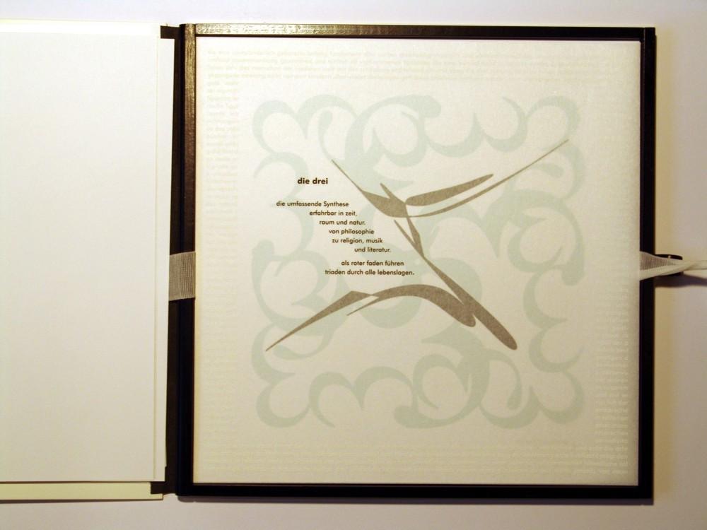 Die Drei. Siebdruck in Kleinstauflage auf Japan- und Offsetpapier, Format 40 x 40 cm
