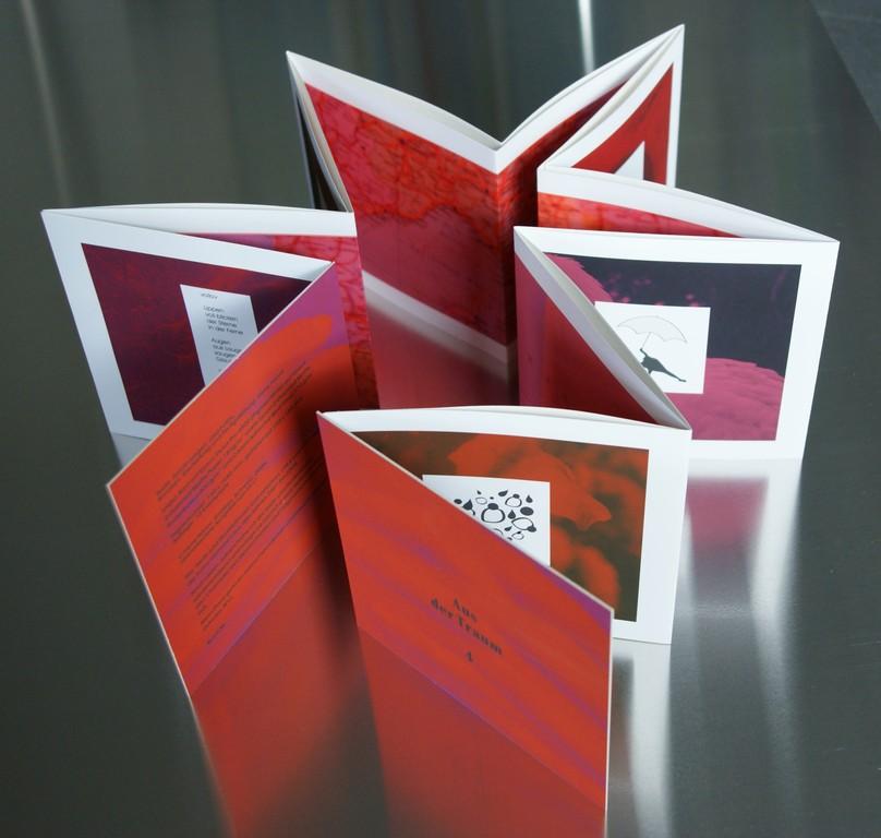 Aus der Traum, 2011 Band 4. Inkjet-Print auf Enhanced Matte Paper und Enhanced Matte Poster Board. Auflage: 12 Ex. Format: 16 x 16,5 cm
