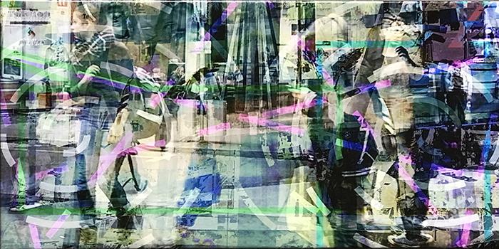 warten(15)/attendre_2018_imprime-pigmenté-et-acryl-sur-canvas_size50x100cm_possession-privée