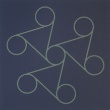 o.T. (die Neun), 1994. Siebdruck auf Offsetpapier (in Kleinstauflage), Format: 70 x 50 cm