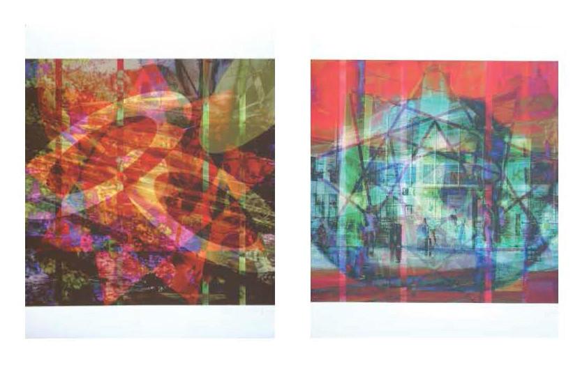 à gauche: web32x33n8, 2015. à droite: web32x33n7, 2015. tous: imprime sur canvas. 42 cm x 33 cm chaqu'un