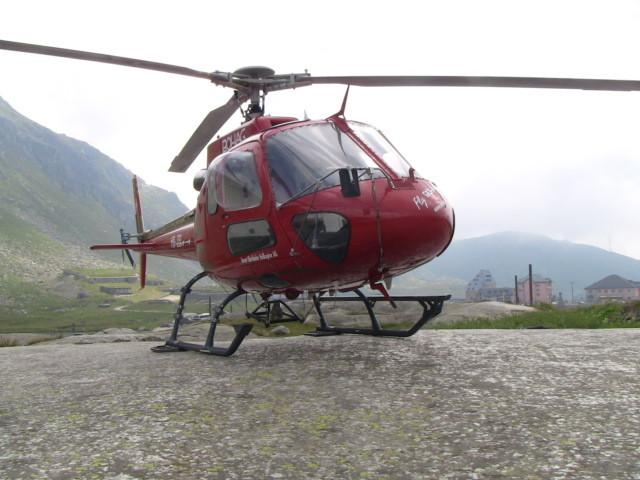 Fertig auf dem Gotthard