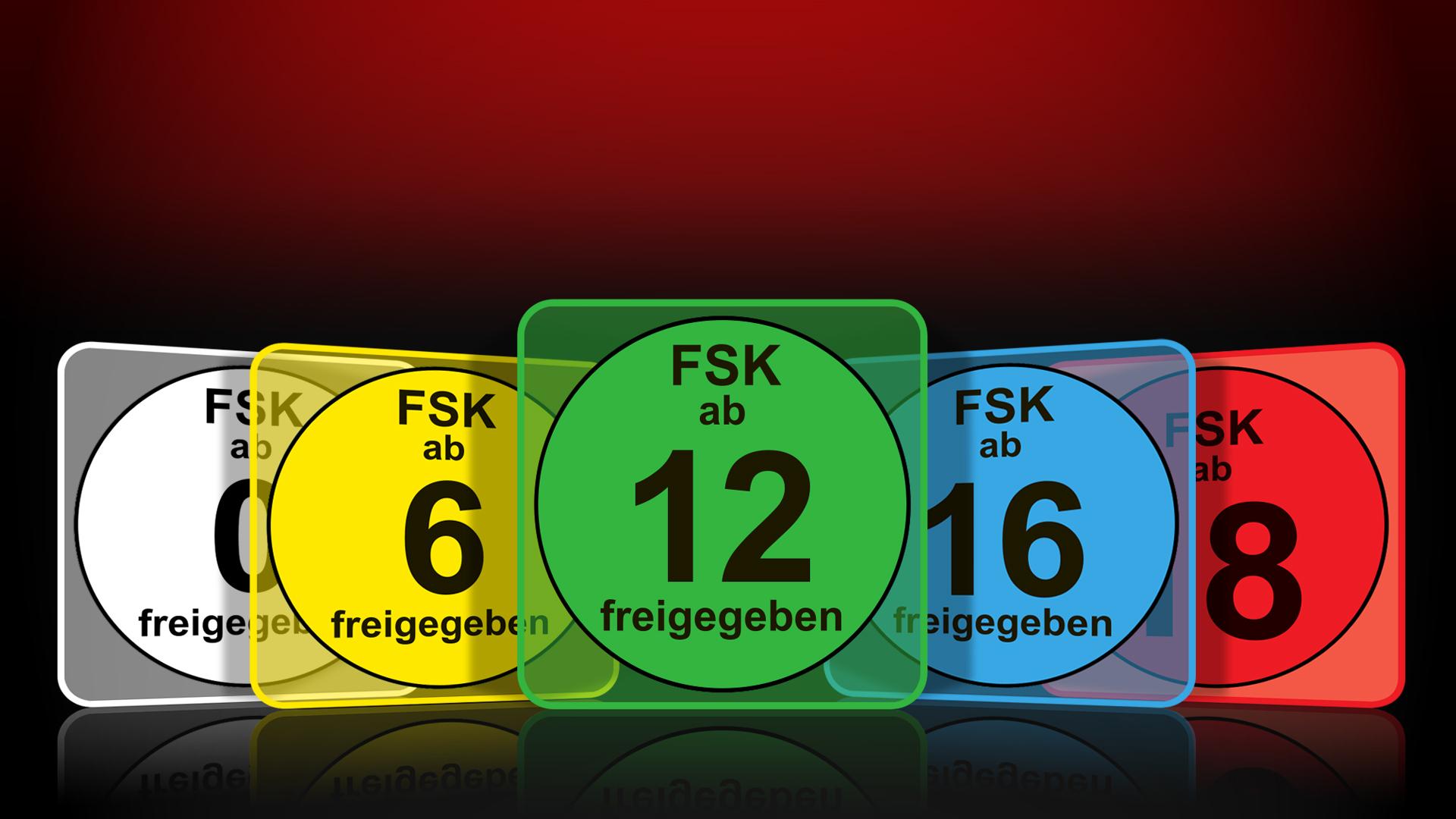 FSK-Kennzeichen    Grafik für die FSK-Startseite