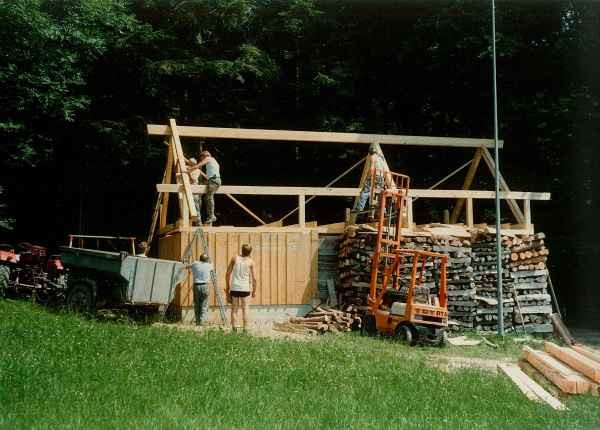 1989 Bau Hornusserhütte Spittlerweid
