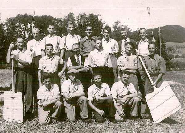 Ende 1950er Jahre HG Auswil