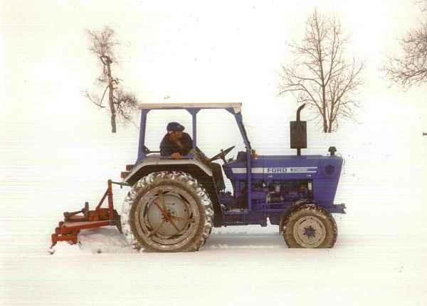 1996 Vorbereitung für Platzweihhornussen