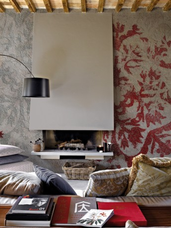 Textur3 Designtapete Inkiostro Bianco Italien
