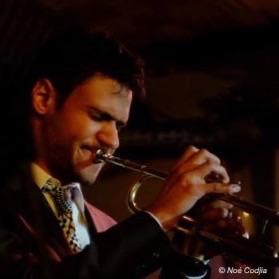 """Noé Codjia, trompettiste, intervenant dans la catégorie """"Jazz"""""""
