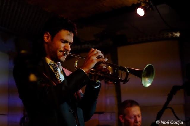 Noé Codjia, trompetiste, jazz, volver events