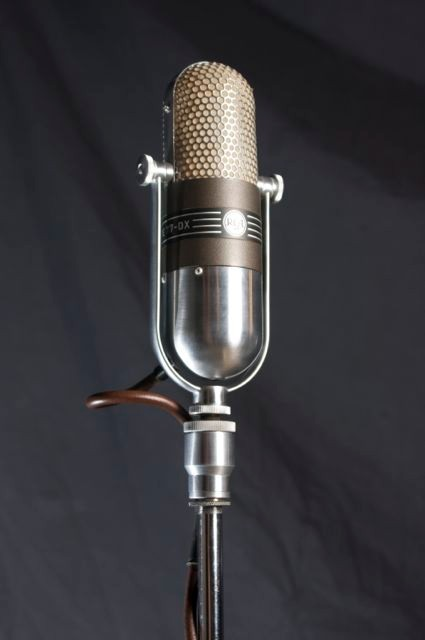 One of our collection of Vintage Mics   RCA DX-77