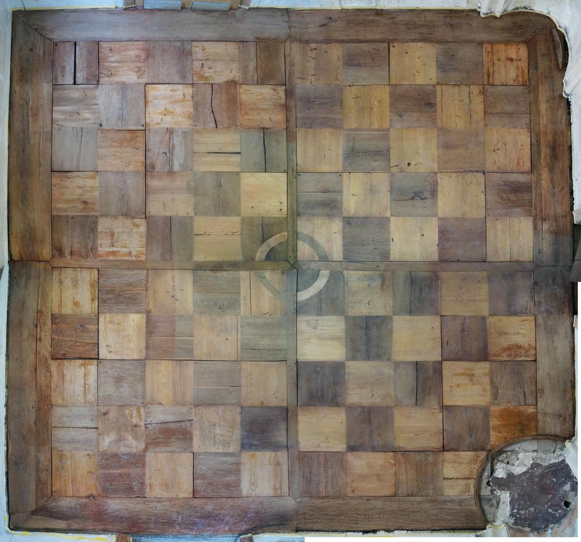 Messbild der Holzschäden