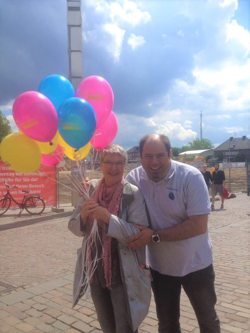 Landtagskandidat Bastian Nitsche sagt Danke für den tollen Wahlkampf