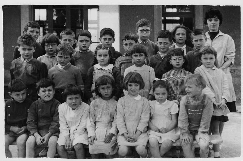 la classe en 1960 (Archives Chabot-Péron)