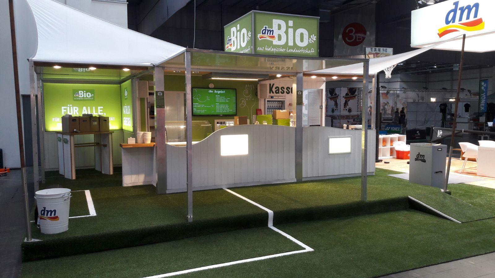 MESSEBAU - dmBio auf der Baspo 2018, Dortmund