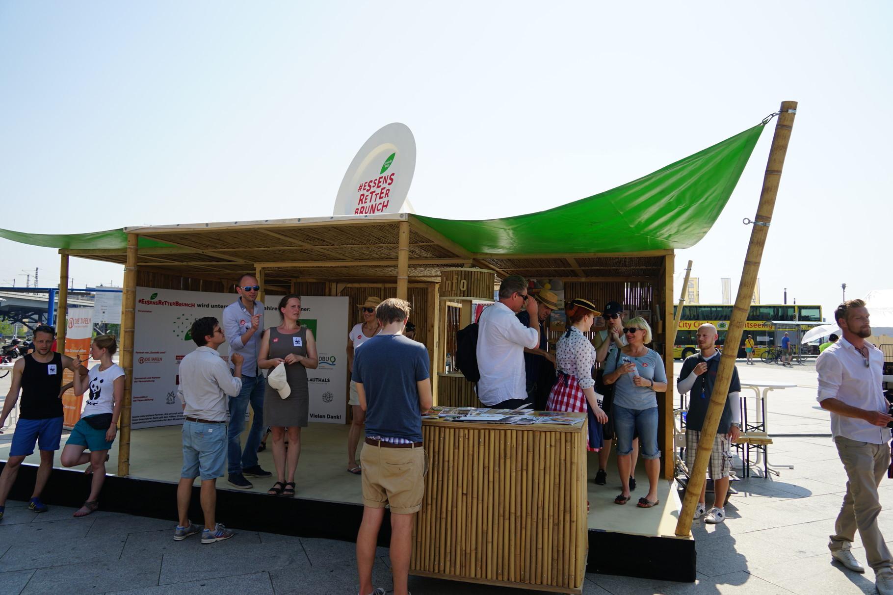 ROADSHOW - WWF lädt zum Essensretterbrunch 2015, Berlin
