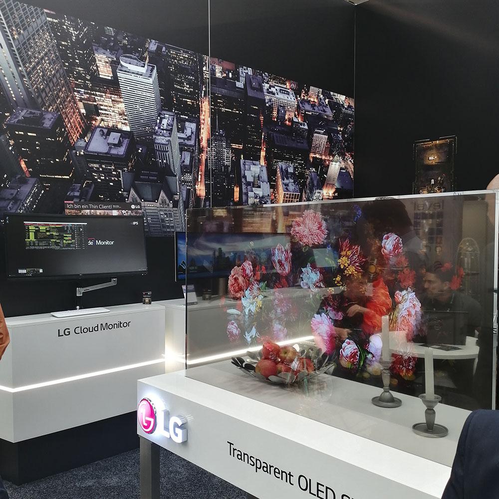 LG Electronics auf der CTV 2019 in Düsseldorf