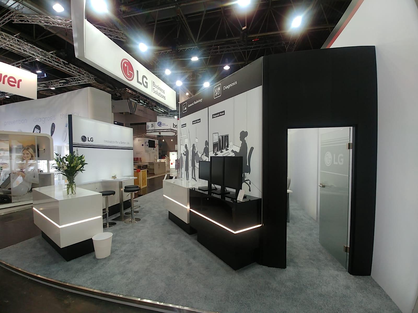 LG Electronics auf der Medica 2018 in Düsseldorf