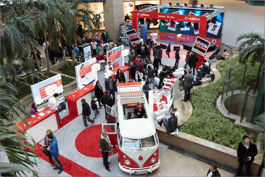 EVENTS - Vodafone, Konzeption und Umsetzung