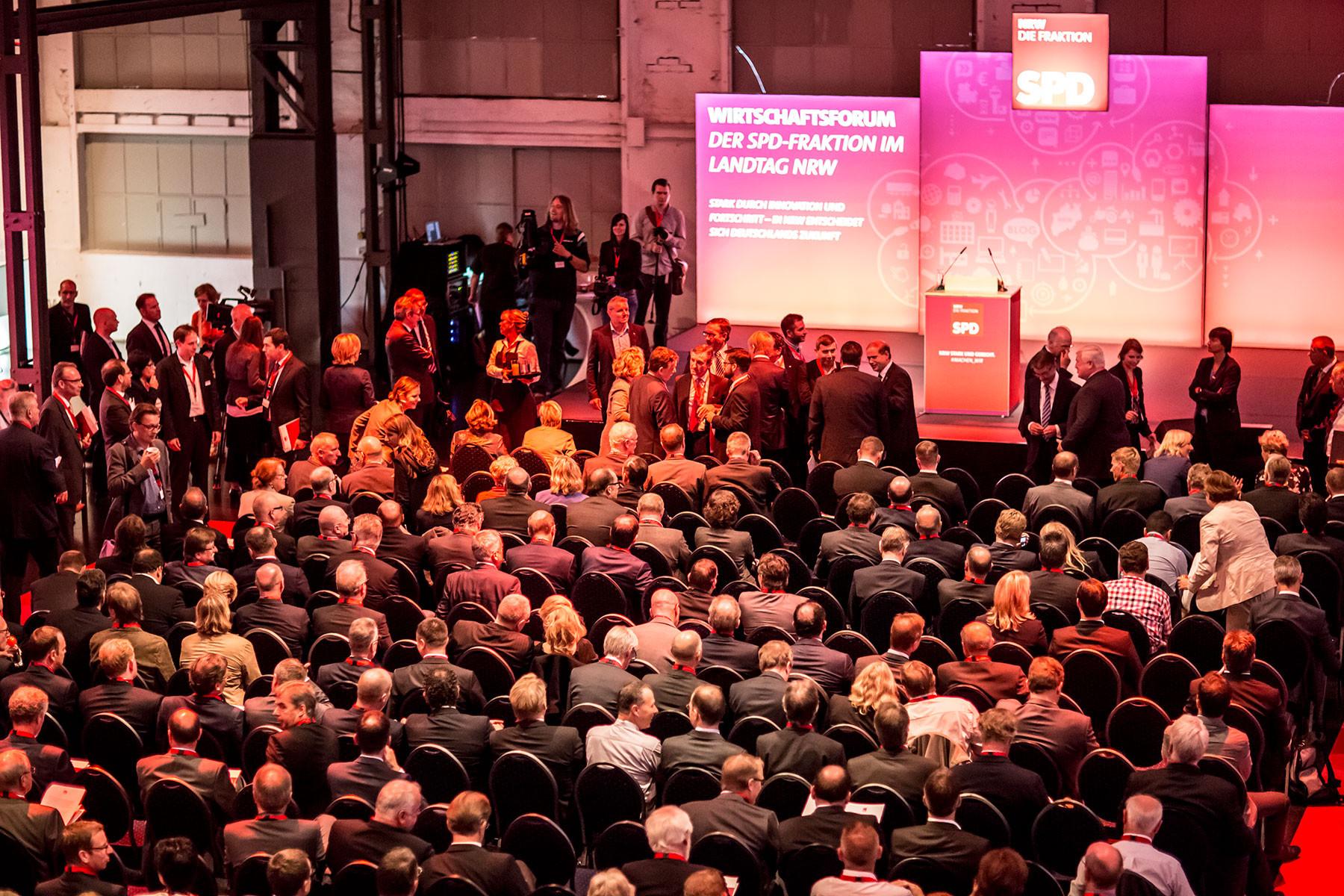 EVENTS - SPD-Fraktion/NRW, WIRTSCHAFTSFORUM 2015, Düsseldorf