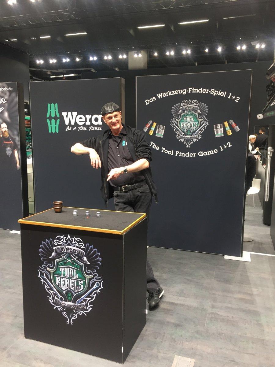 MESSEBAU / SIDE EVENTS - WERA auf der Internationalen Eisenwarenmesse 2018, Köln