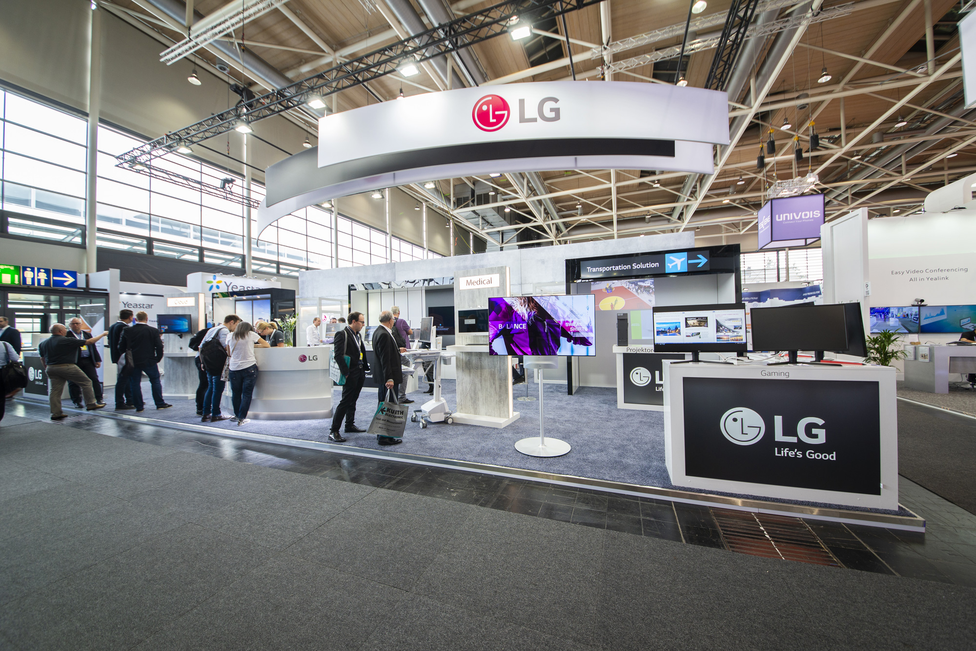LG Electronics auf der CEBIT 2018 in Hannover