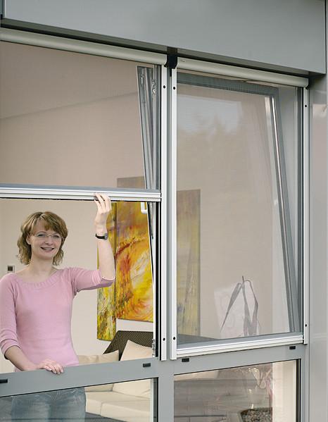 Insektenschutz für Fenster                                                             (Bildquelle: Kadeco)