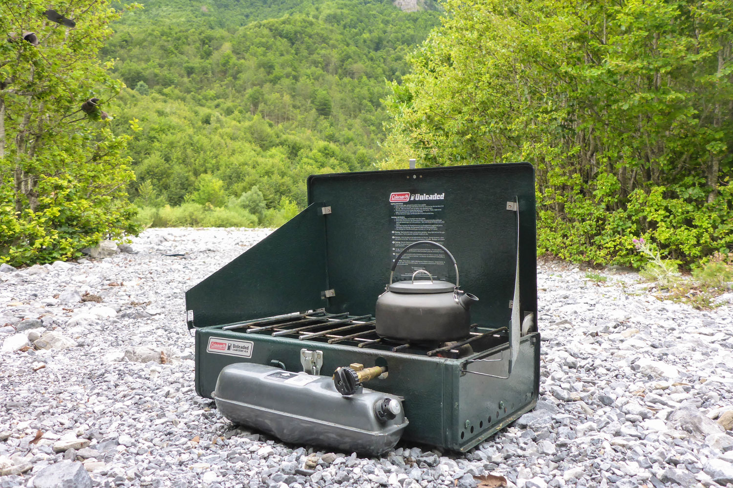 Coleman unleaded two-burner stove review