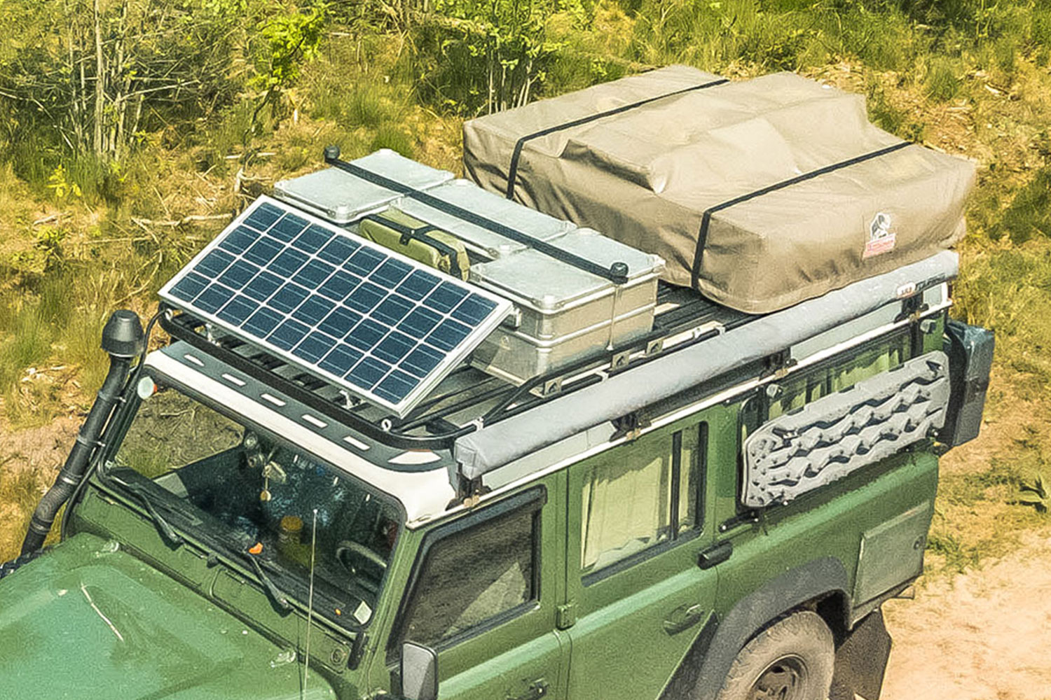 Tembo 4x4 Defender 110 roof rack review