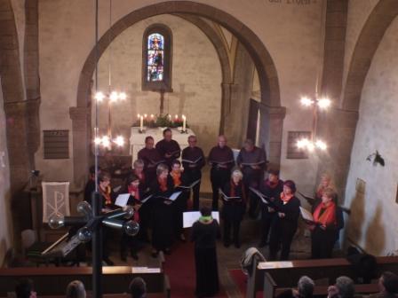 Stadtchor Rehna zu Gast in Rhena (Hessen)
