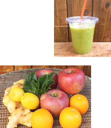 コールドプレスジュース 有機野菜 果物 りんご オレンジ