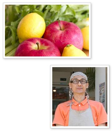 野菜 果物 創業者 マネージャー顔写真 ご挨拶