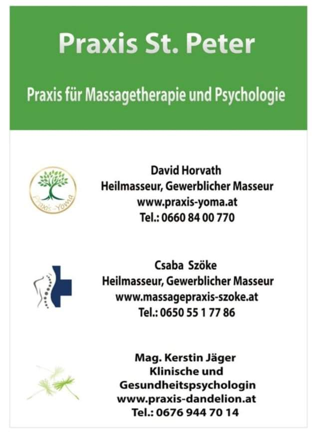 Massagepraxis, csaba szöke, massage graz, massage in graz, csaba massage, massage graz csaba, csaba szöke massage, massage csaba szoke, massagetherapie, therapie graz, physiotherapie graz