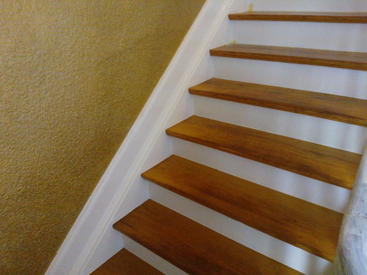 geschliffene Treppe