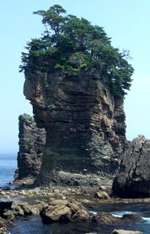 三王岩 岩手県天然記念物 三陸ジオパーク ジオサイト