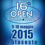9-10  MAGGIO - 16° OPEN D'ITALIA DI KARATE - SESTO SAN GIOVANNI