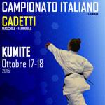 18 OTTOBRE - CAMPIONATI ITALIANI CADETTI
