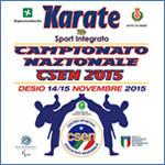 14 NOVEMBRE - CAMPIONATO ITALIANO CSEN - DESIO